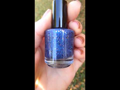 Outer Space Collection Jelly Glitter 3 Free Nail polish by MDJ Creations