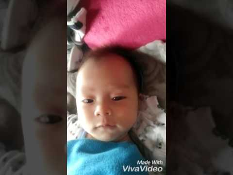 Two months old baby learn to speak :) :) :)