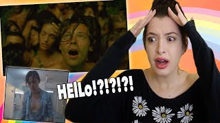 AN O*GY WITH HARRY STYLES. YOU'RE ALL INVITED ~ Lights Up Reaction