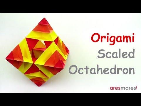 Origami Scaled Octahedron (easy - modular)