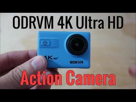 ODRVM 4K Wifi Action Camera Review ($70 USD!!)