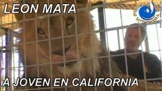 LEON MATA A JOVEN DE 24 AÑOS EN CALIFORNIA
