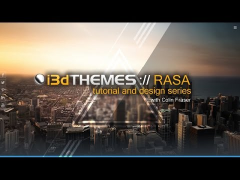 Rasa Tutorial: Change the logo/tagline font size/family (Dreamweaver)