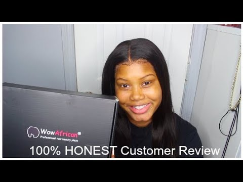 Honest WowAfrican Glueless Full Lace Wig Review  (Unboxing + 2 Week Update)