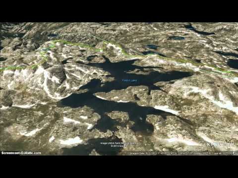 The Beaten Path HD - Google Earth Fly Over By Ted H.