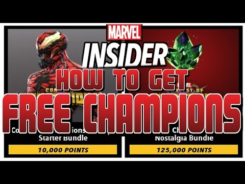 How To Get Free Champions - Marvel Insider July- [Marvel Contest of Champions]