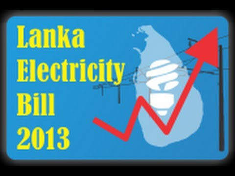 Android App : Lanka Electricity Bill 2013 - Indepth analysis
