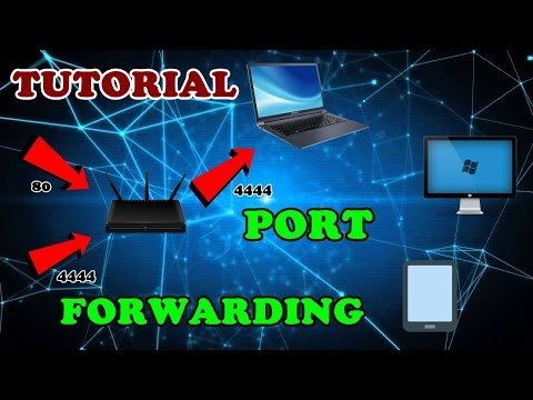 How To Forward Ports Through A Router | Port Forwarding Tutorial