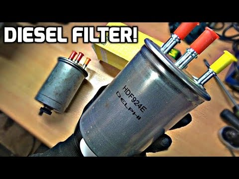 Ford Mondeo Mk3 Diesel Filter Replacement (How To)