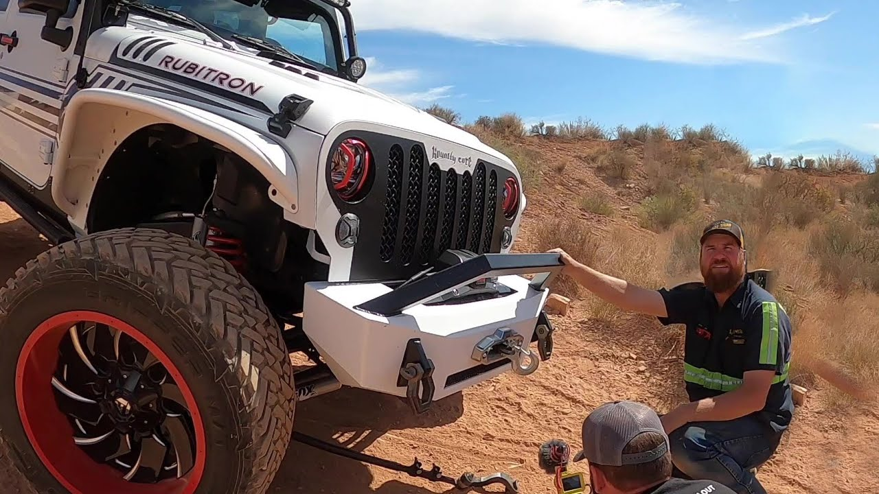 $100,000 Jeep Breaks On The Trail