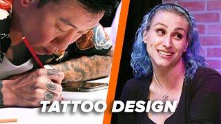 Download Tattoo Artist Vs. Tattoo Artist: Lyric Tattoo Video