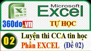 Tự học Excel: Giải đề.