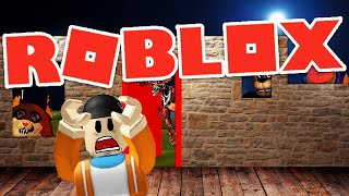 BUILDING AGAINST DENIS ARMY AND MONSTER ATTACKS IN ROBLOX! | Roblox