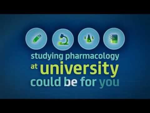 Studying pharmacology at university