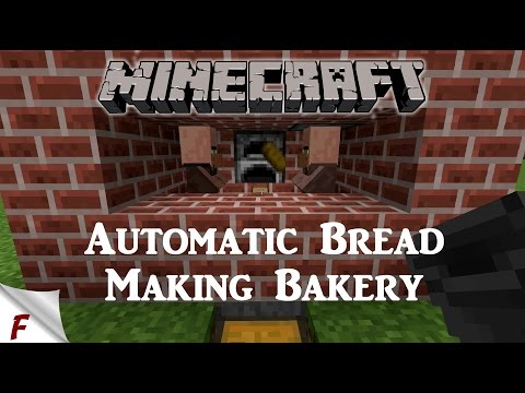 Minecraft Automatic Bread Making Bakery 1.10 & 1.11