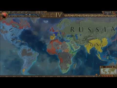 After The Endgame: EU4 Free For All of 1821