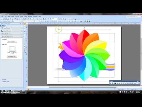 Create a Logo with MS Publisher