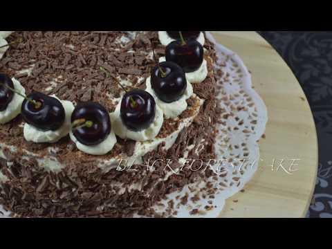Black Forest Cake   AfeeHeartsCake