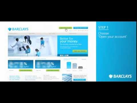 Barclays: How to Open an Account Narrated by Debbie Irwin