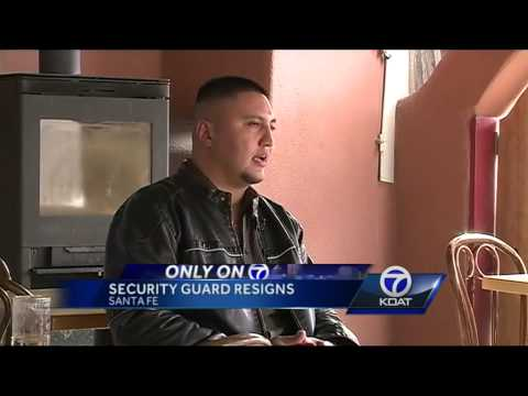 Roundhouse security guard resigns