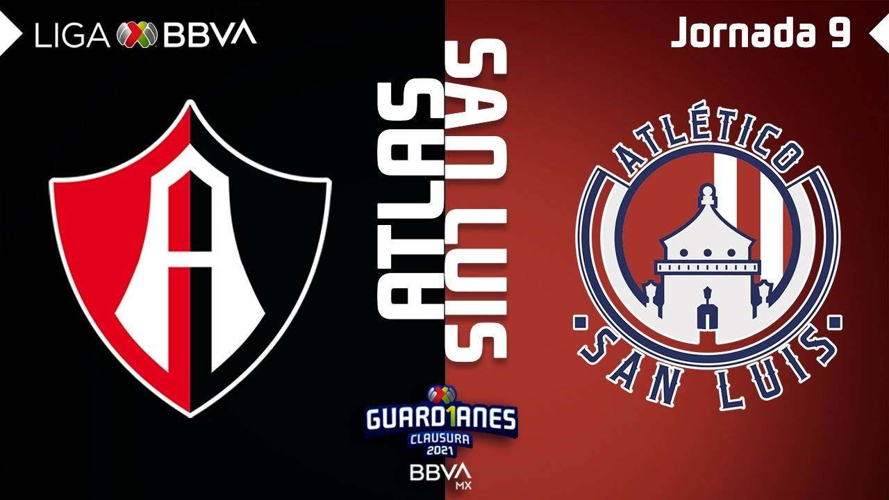Resumen y Goles | Atlas vs San Luis | Liga BBVA MX - Guard1anes 2021 - Jornada 9