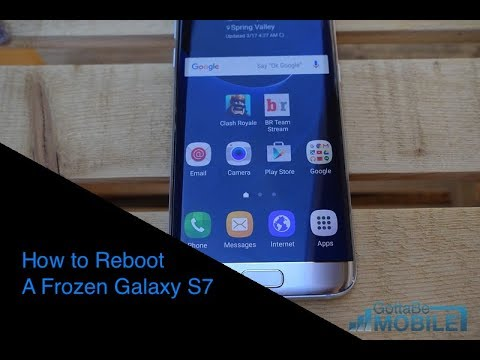 How to Reboot a Frozen Galaxy S7 or S7 Edge