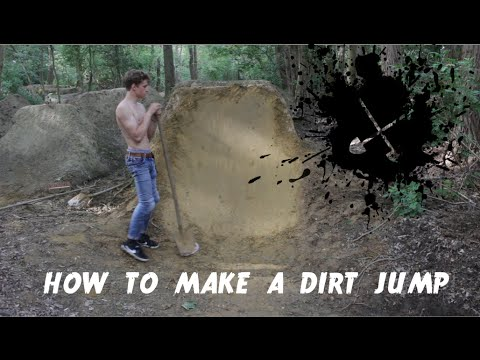 HOW TO MAKE A DIRT JUMP (tutorial)