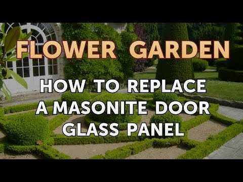 How to Replace a Masonite Door Glass Panel