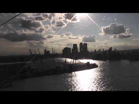 Free Stock Footage - London O2 Arena From Cable Car