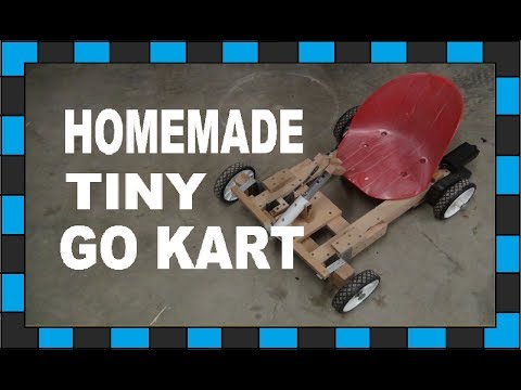 Homemade Electric Go kart!!!
