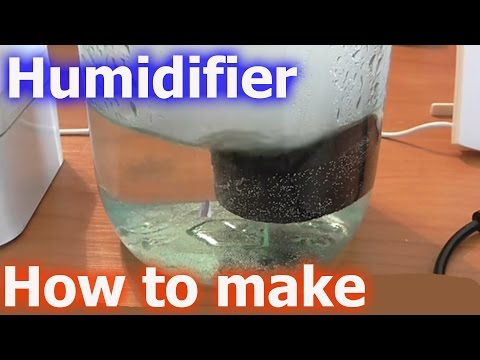 How to make a Humidifier DIY