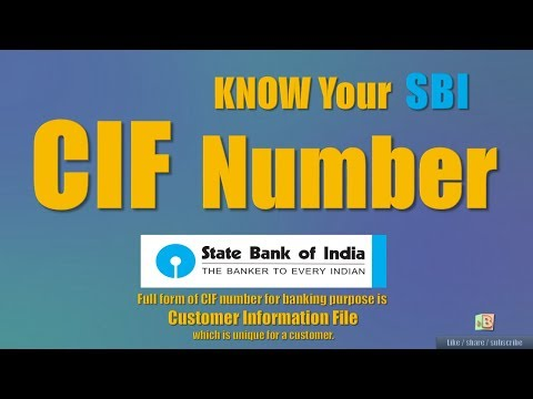 How To Know Your SBI CIF number ONLINE 2018 | OnlineSBI | SBI Anywhere | SBI Passbook