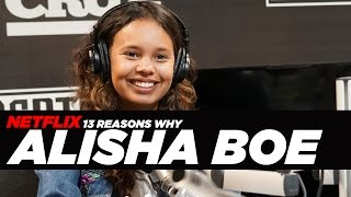 13 Reasons Why - Alisha Boe [Jessica] Talks About Her Depression and Reenacts A Scene