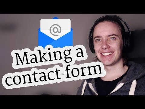 Making and validating a working Contact Form with JavaScript