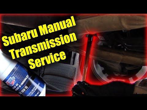 Subaru Manual Transmission Service