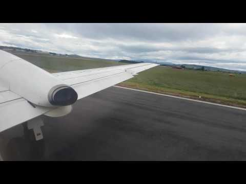 BE 6975 Inverness to Manchester airport Saab 2000 Loganair