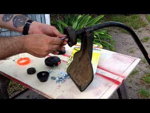 Push-N-Load 4 String Trimmer Head