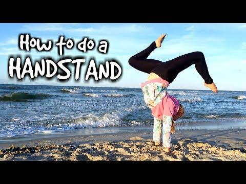 HOW TO DO A HANDSTAND 🤸♀️ Gymnastics Tutorial