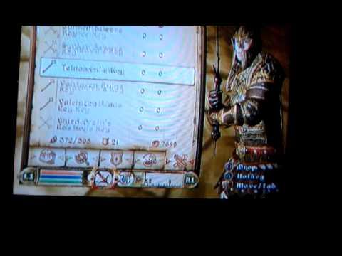 Oblivion infinate scrolls,lockpicks and potions