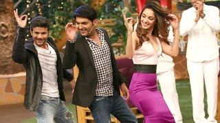 Kiara Advani And Mustafa In Kapil Sharma Show - Machine Movie 2017
