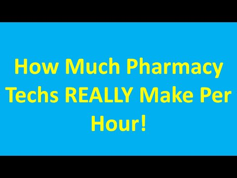 How Much Does A Pharmacy Tech Make An Hour - The Facts