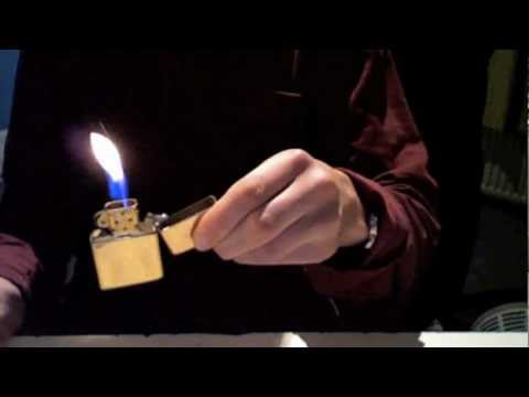 zippo tricks to watch and learn