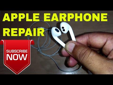 Repair iphone earphone or Headphone | Apple earphone low volume problem
