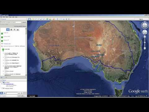 How to create a Google Earth KMZ file of your travels