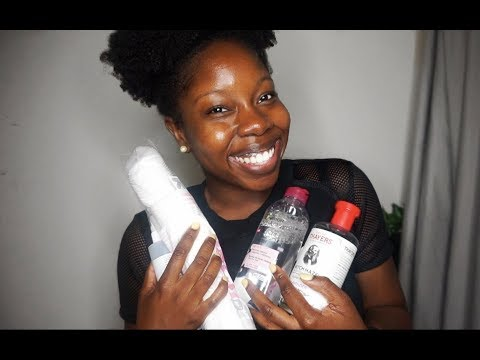 How I Take Off My Makeup | My Skin Care Routine