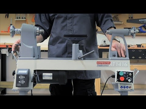 Axminster Trade AT1416VS Woodturning Lathe - Product Overview