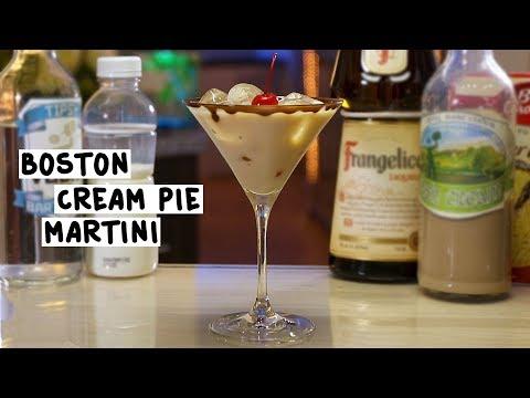 Boston Cream Pie Martini - Tipsy Bartender