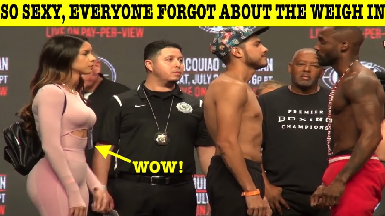 Top 10 People Who Stole The Show During The Weigh In