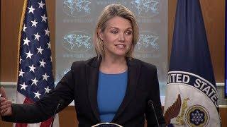 Department Press Briefing - August 14, 2018