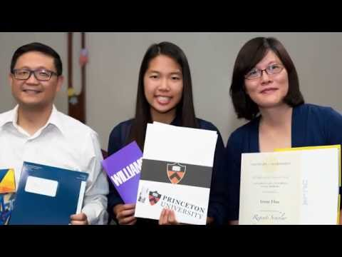 Irene Hsu got accepted to Princeton University